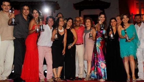 Momentos y ganadores de los Premios India Catalina 2014
