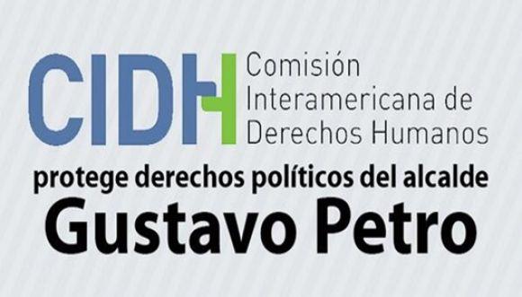 CIDH otorga medidas cautelares para Gustavo Petro