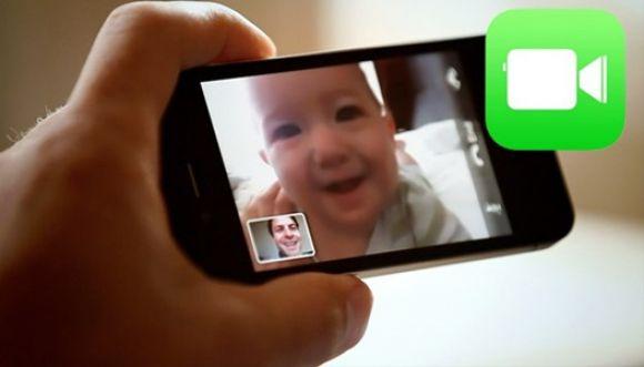 Gracias a la app FaceTime bebé salvó a su mamá