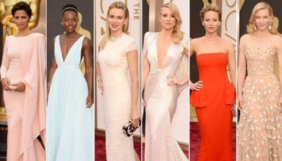 Los mejores vestidos en la noche de gala de los premios Oscars