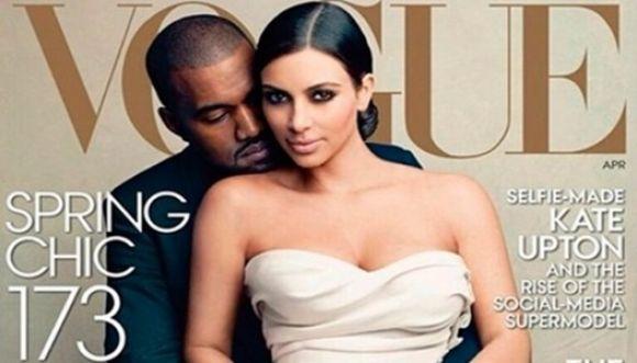 Portada de Vogue con Kim Kardashian generó polémica