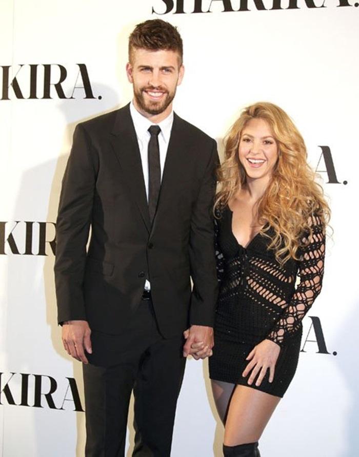 Shakira y Pique en el evento