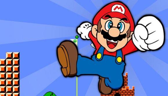 """Con sus dedos interpreta la melodía de """"Super Mario Bros"""""""