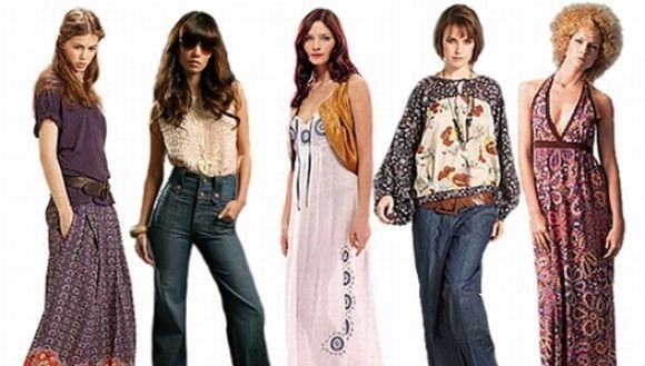 Tendencia de los 70's es moda hoy