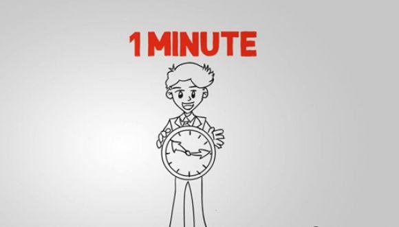 En solo un minuto puedes hacer 10 cosas productivas