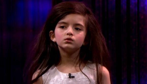 Niña de 7 años sigue causando furor por su voz prodigiosa