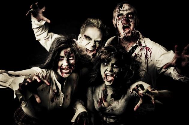 [Para despistar a los zombis