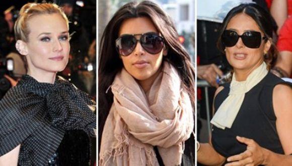 Usa tus bufandas con diferentes looks