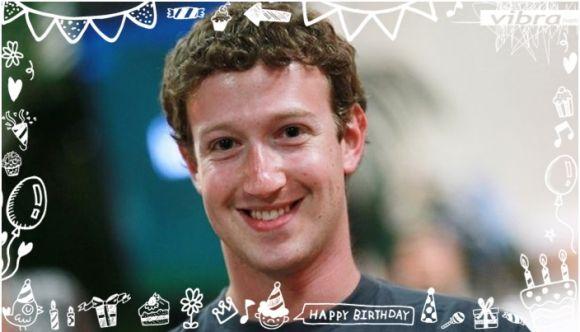 Mark Zuckerberg, creador de Facebook, cumple 30 años