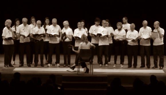 ¿Sabes qué le pasó a este grupo de coristas?