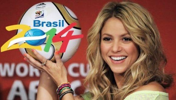 La canción de Shakira con contenido futbolístico en español