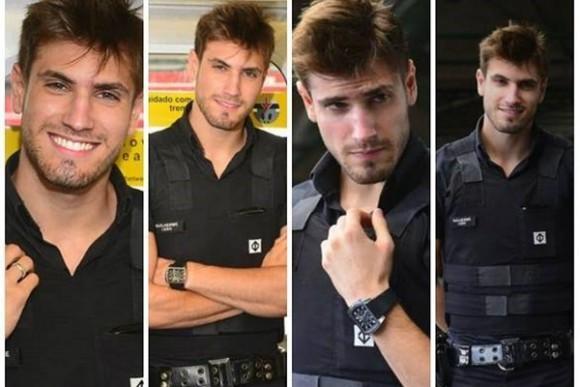 Conoce el policía más sexy de Brasil