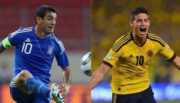 ¿Cuál es el futbolista más sexy? Colombia vs Grecia