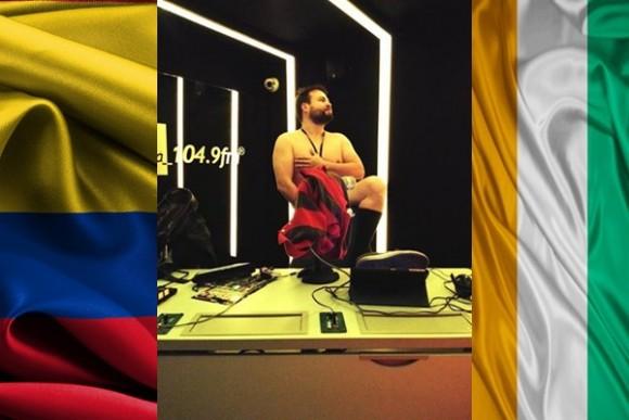 Toño cumplió su apuesta en Vibra Bogotá