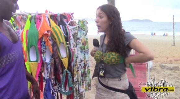 Karen busca un vestido de baño en Ipanema