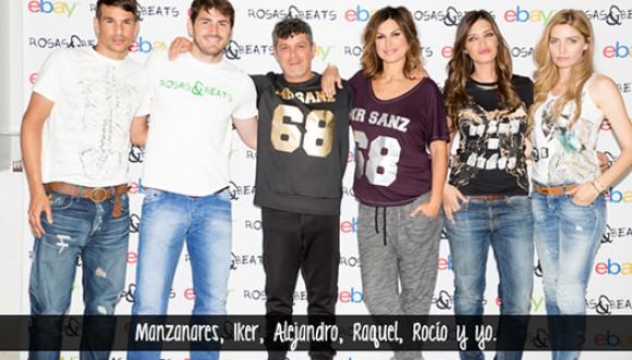 Alejandro Sanz presenta su marca de ropa
