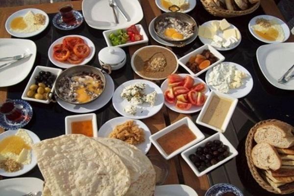 El desayuno turco