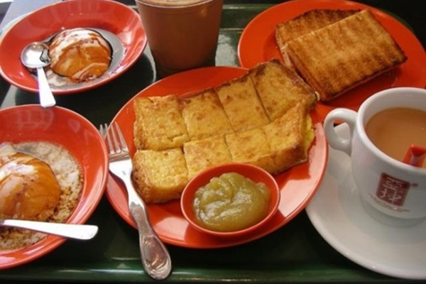 El desayuno singapurense