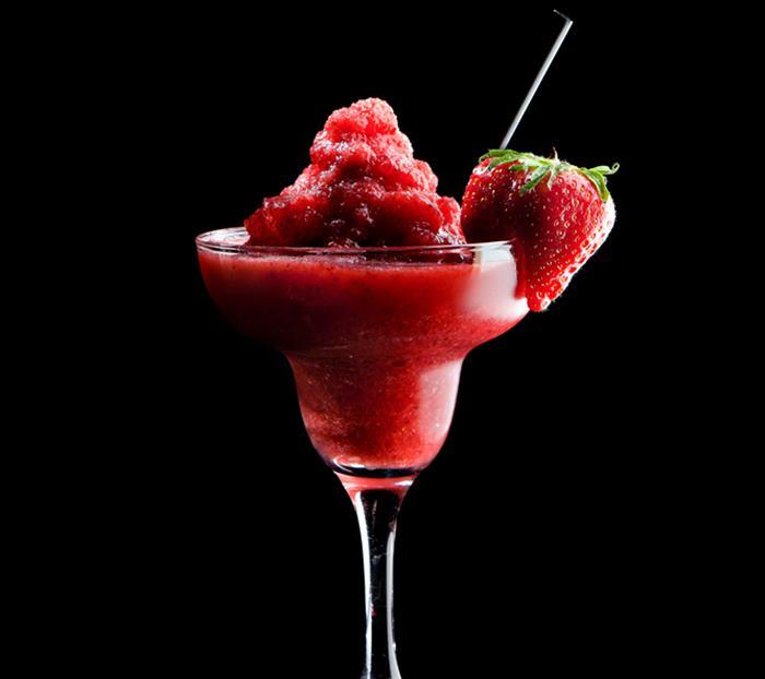 Foto de un Strawberry Margarita