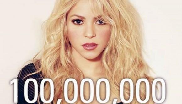 Shakira: reina del facebook