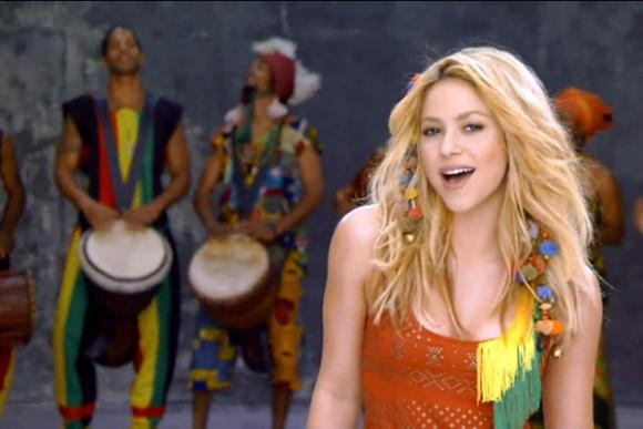 Posiblemente Shakira cantará en la clausura del Mundial