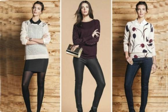 Tendencia en suéteres femeninos