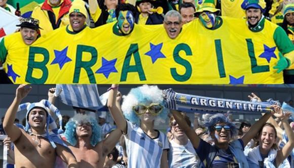 ¡La venganza de Brasil a Argentina!