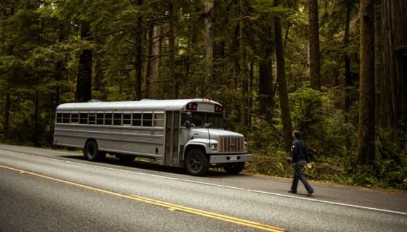 Transformación de un bus en una casa
