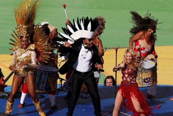 Clausura Mundial 2014, Shakira tricampeona
