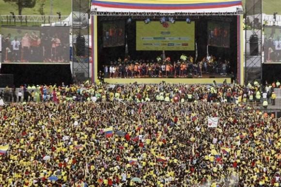 ¡Colombia vibró de emoción!