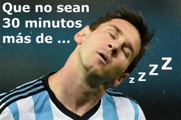 Fotos:memes de Argentina vs Holanda