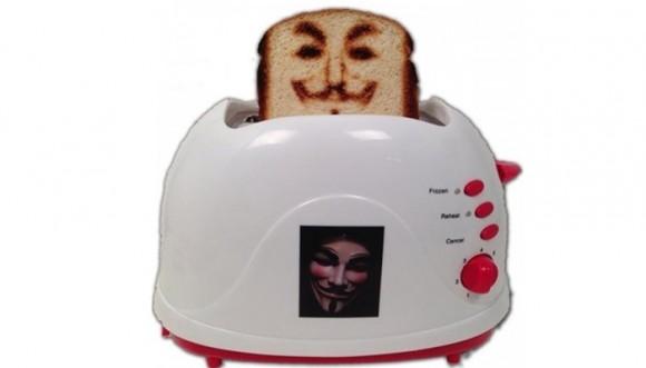 Curiosa selfie tostadora