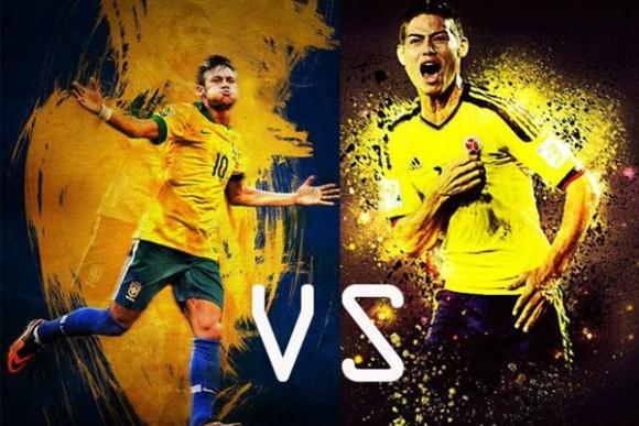 James vs Neymar calientan el juego bailando