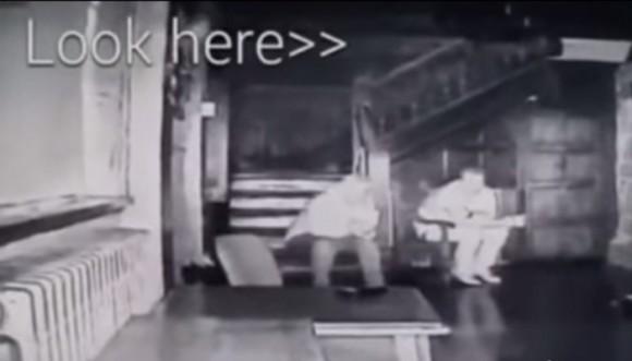 Video: espíritus tenebrosos en un Palacio