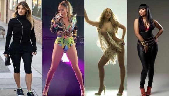 Pintas no aptas para Mariah Carey, Jennifer Lopez y otras
