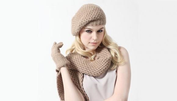 Bufanda, gorro y guantes: la moda contra el frío