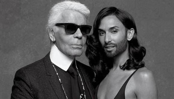 Chanel le abrió las puertas a Conchita Wurst