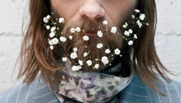 Barbas de flores, tendencia en los hombres