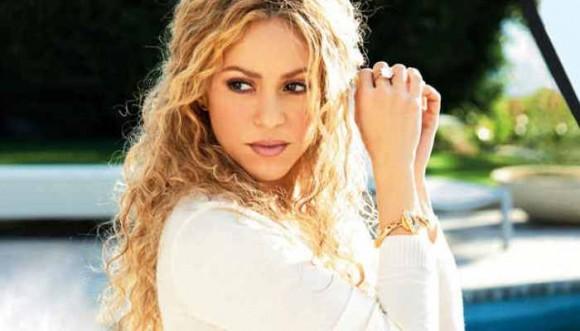 Foto de Shakira no muestra su embarazo