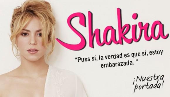 La verdad es que sí, estoy embarazada: Shakira