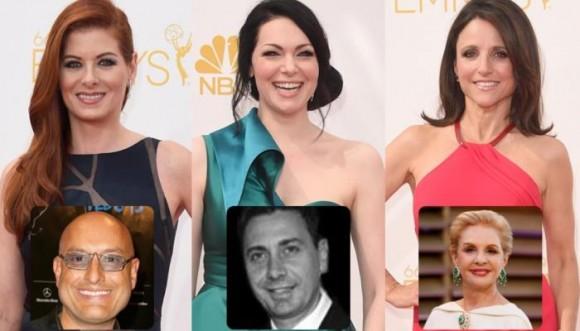 Carolina Herrera y 2 diseñadores latinos en los Emmy 2014
