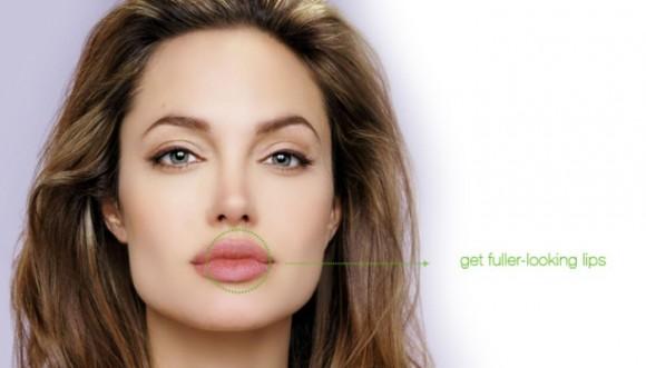 Labios a lo Angelina Jolie, paso a paso