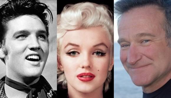 Día de la prevención del suicidio: Robin Williams y otras estrellas