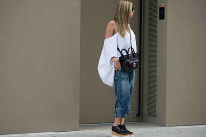 Foto de chica con jeans