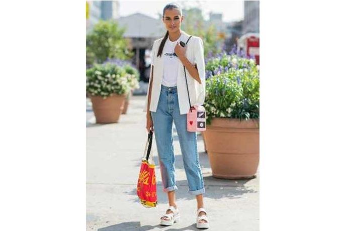 Foto de chicas con jeans