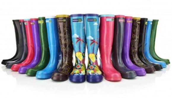 Botas para lluvia con mucho estilo