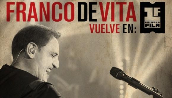 Franco de Vita se viste de gala