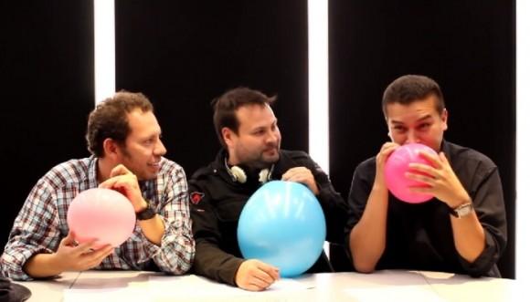 Este es el reto del helio con #LosRetrotubers