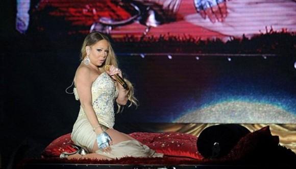 Mariah Carey va cuesta abajo