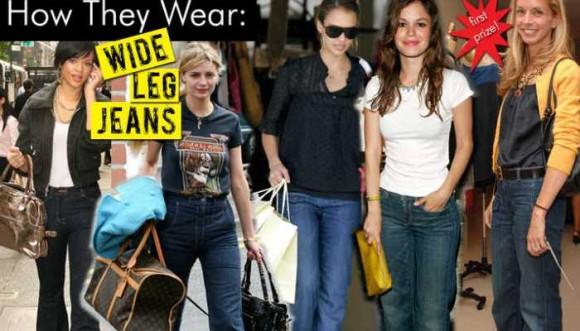 ¿Jeans anchos para mujer? ¡Adiós al pitillo!